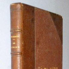 Libros antiguos: DE L´URINE. NOUVELLES DONNÉES SEMÉIOLOGIQUES. PRINCIPAUX REACTIFS EMPLOYÉS AU LIT DU MALADE. Lote 162801586