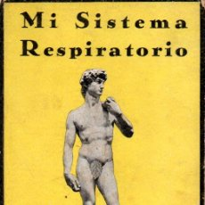 Libros antiguos: MULLER : MI SISTEMA RESPIRATORIO - GIMNASIA. Lote 163449966