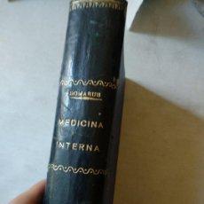 Libros antiguos: A. VON DOMARUS. MEDICINA INTERNA. BARCELONA, 1930. Lote 165265526