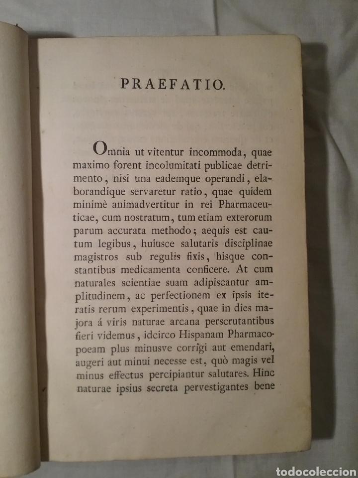 Libros antiguos: FHARMACOPEA HISPANA 1817 ,cuarta edicion , 358 paginas, 22.50cm x 15cm x 3.50 cm - Foto 5 - 165873492