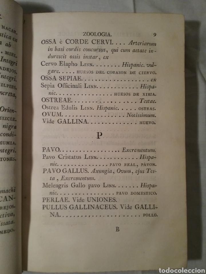 Libros antiguos: FHARMACOPEA HISPANA 1817 ,cuarta edicion , 358 paginas, 22.50cm x 15cm x 3.50 cm - Foto 6 - 165873492