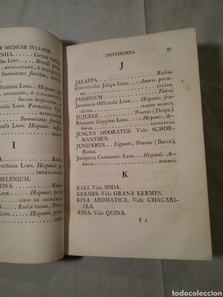 Libros antiguos: FHARMACOPEA HISPANA 1817 ,cuarta edicion , 358 paginas, 22.50cm x 15cm x 3.50 cm - Foto 7 - 165873492