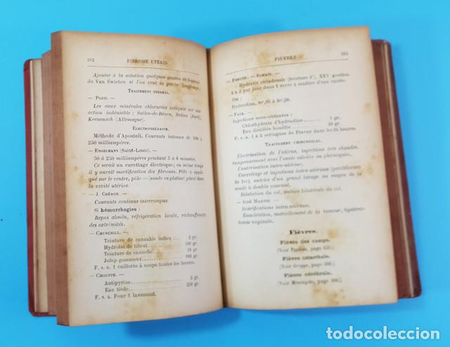 Libros antiguos: FORMULAIRE MODERNE DOCTEUR VAUCAIRE TRAITEMENTS ORDONNANCES MEDICAMENTS,FORMULARIO MEDICAMENTOS 1892 - Foto 4 - 166315058