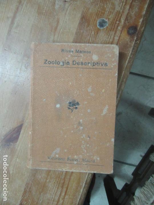 LIBRO ZOOLOGÍA DESCRIPTIA RIVAS MATEOS 1902 L-19181 (Libros Antiguos, Raros y Curiosos - Ciencias, Manuales y Oficios - Medicina, Farmacia y Salud)