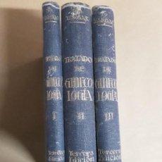 Libros antiguos: TRATADO DE GINECOLOGIA,3 TOMOS,MIGUEL A. FARGAS,1918. Lote 167155392