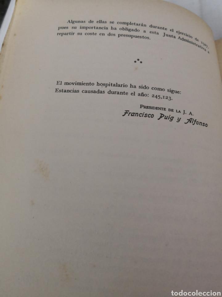 Libros antiguos: Lote de 2 libros del HOSPITAL CLÍNICO DE BARCELONA. 1025 y 1926 - Foto 7 - 167569048