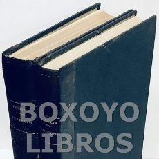 Libros antiguos: ORUETA Y DUARTE, DOMINGO DE. MICROSCOPIA Y LA TEORÍA Y EL MANEJO DEL MICROSCOPIO. PRÓLOGO DE SANTIAG. Lote 167768085