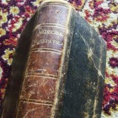 Libros antiguos: MEDICINA HOMEOPATICA DOMESTICA- GUIA DE LAS FAMILIAS DOCTOR C.HERING, EDITORIAL CARLOS BAILLY, 1875 . Lote 167805188
