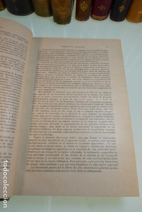 Libros antiguos: Tratado de patología externa. Boulet y Bousquet. Tomo primero. Barcelona. 1892. - Foto 4 - 167827492