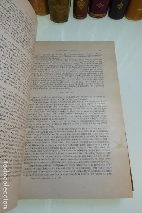 Libros antiguos: Tratado de patología externa. Boulet y Bousquet. Tomo primero. Barcelona. 1892. - Foto 6 - 167827492