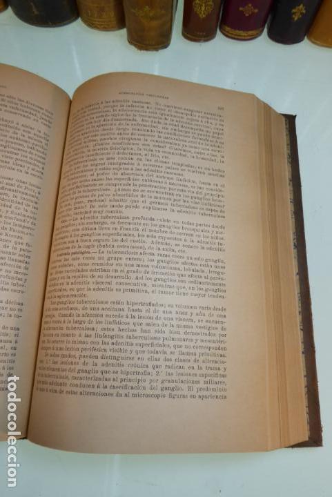 Libros antiguos: Tratado de patología externa. Boulet y Bousquet. Tomo primero. Barcelona. 1892. - Foto 7 - 167827492
