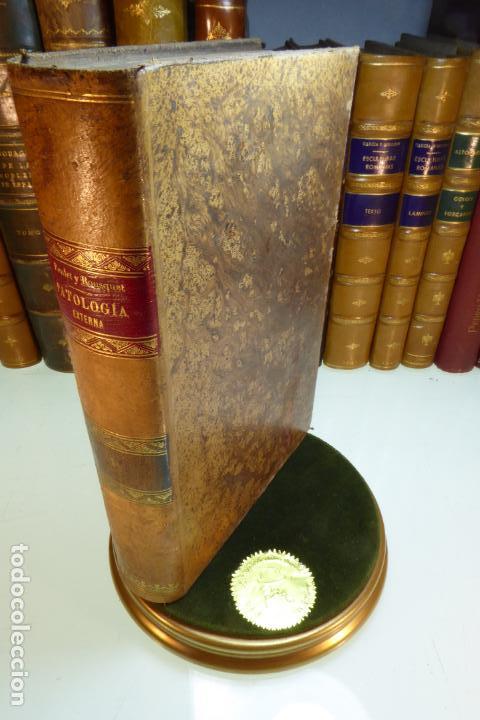 TRATADO DE PATOLOGÍA EXTERNA. BOULET Y BOUSQUET. TOMO PRIMERO. BARCELONA. 1892. (Libros Antiguos, Raros y Curiosos - Ciencias, Manuales y Oficios - Medicina, Farmacia y Salud)