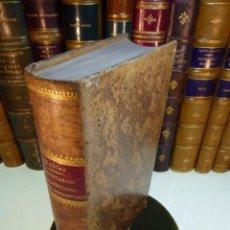 Libros antiguos: COMENTARIOS TERAPÉUTICOS DEL CODEX MEDICAMENTARIUS. ADOLFO GUBLER. TRADUCCIDO POR D. ANTONIO VILLAR . Lote 167830824