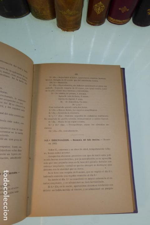 Libros antiguos: Tratamiento de la neumonía. A. M. De Obieta. Imprenta y litografía de Juan E. Delmas. Bilbao. 1893. - Foto 6 - 167832884