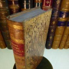 Libri antichi: TRATADO DE ANATOMÍA DESCRIPTIVA POR PH. C. SAPPEY. TRADUCIDO AL CASTELLANO D. RAFAEL MARTINEZ Y MOLI. Lote 167834976