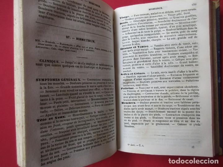 Libros antiguos: MEDICINE HOMEOPATHIQUE. G.H.G.JAHR. PARIS 1855.TOMO I.HOLANDESA. 404 PÁGINAS. 18 X 12 CM. EN FRANCÉS - Foto 4 - 168437136