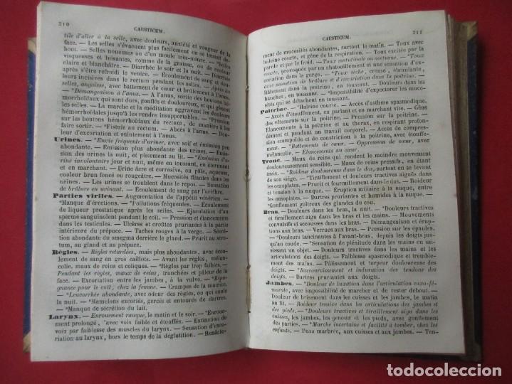 Libros antiguos: MEDICINE HOMEOPATHIQUE. G.H.G.JAHR. PARIS 1855.TOMO I.HOLANDESA. 404 PÁGINAS. 18 X 12 CM. EN FRANCÉS - Foto 5 - 168437136