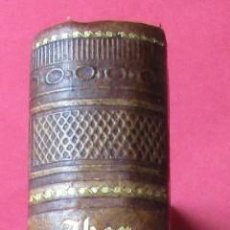 Libros antiguos: MEDICINE HOMEOPATHIQUE. G.H.G.JAHR. PARIS 1855.TOMO 2.HOLANDESA. 18 X 12 CM. EN FRANCÉS. Lote 168438232