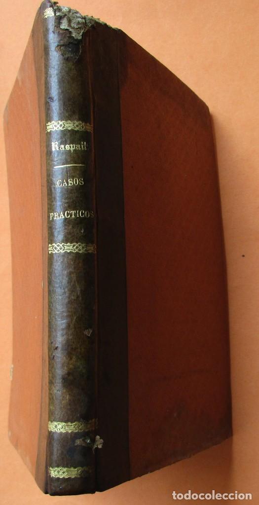 Libros antiguos: CASOS PRÁCTICOS DE CURACIONES (CASI MILAGROSAS). RASPAIL. 1851. HOLANDESA.208 PÁGINAS. 17 X 11 CM. - Foto 2 - 168445300