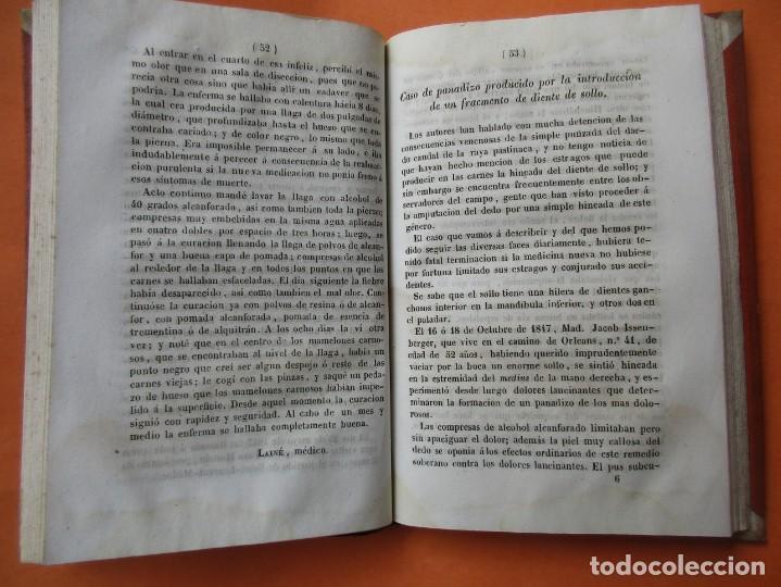 Libros antiguos: CASOS PRÁCTICOS DE CURACIONES (CASI MILAGROSAS). RASPAIL. 1851. HOLANDESA.208 PÁGINAS. 17 X 11 CM. - Foto 4 - 168445300