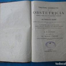 Libros antiguos: TRATADO DE OBSTETRICIA. ERNESTO BUMM. 1931. LÁMINAS. 888 PÁGINAS. 29 X 21,5 CM. VER FOTOS.. Lote 168838548