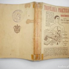 Libros antiguos: PROF. N. CAPO TROFOLOGÍA PRÁCTICA Y TROFOTERAPIA Y94743. Lote 168916292