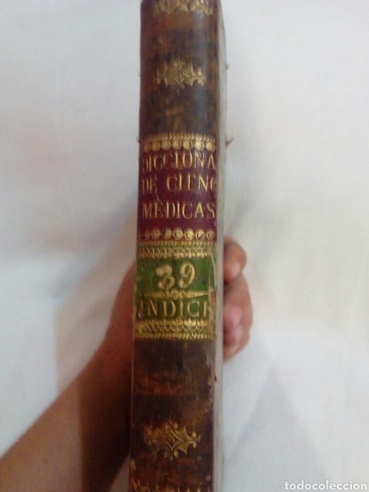 MEDICINA AÑO 1827 DICCIONARIO DE CIENCIAS MÉDICAS TOMO 39 INDICE (Libros Antiguos, Raros y Curiosos - Ciencias, Manuales y Oficios - Medicina, Farmacia y Salud)