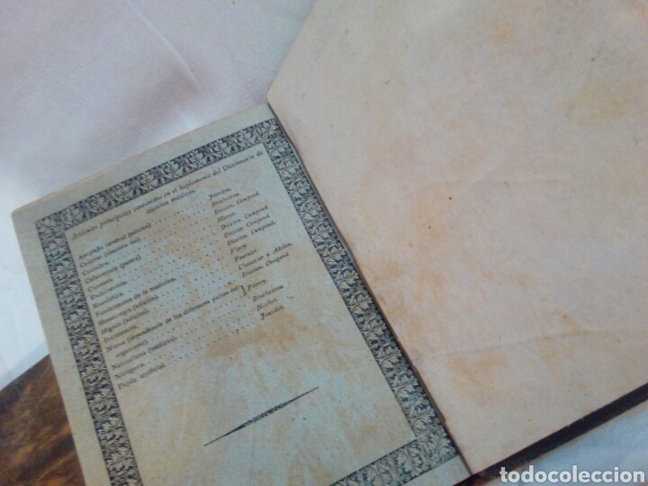 Libros antiguos: Medicina año 1827 diccionario de ciencias médicas tomo 39 indice - Foto 5 - 169096973