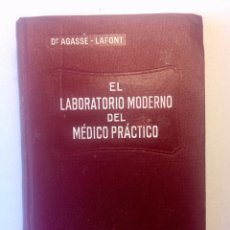 Libros antiguos: EL LABORATORIO MODERNO DEL MÉDICO PRÁCTICO. Lote 169128866