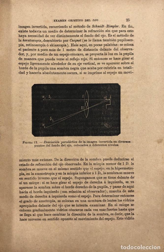 Libros antiguos: TRATADO DE ENFERMEDADES DE LOS OJOS. OBRA EN DOS TOMOS. DR. E. FUCHS. MADRID, 1893. - Foto 3 - 169537896
