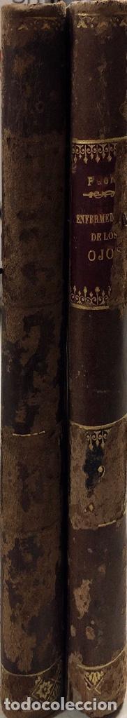 Libros antiguos: TRATADO DE ENFERMEDADES DE LOS OJOS. OBRA EN DOS TOMOS. DR. E. FUCHS. MADRID, 1893. - Foto 6 - 169537896