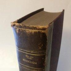 Libros antiguos: 1871 - BECLARD - TRATADO ELEMENTAL DE FISIOLOGÍA HUMANA. Lote 169682540