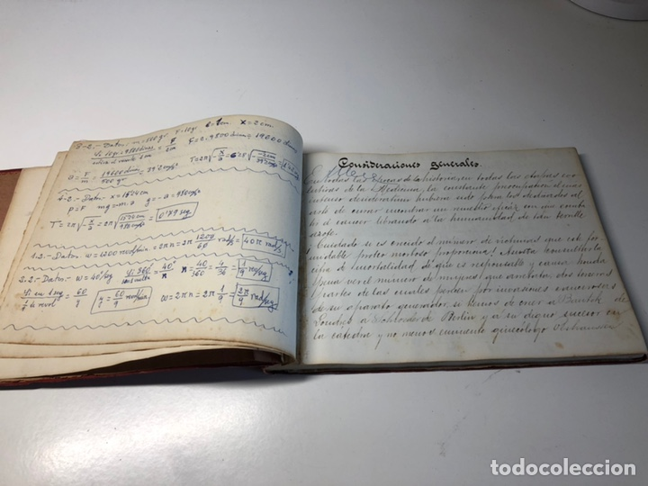 Libros antiguos: LIBRO MANUSCRITO 1904 MEMORIA Dr. C. SAMPIETRO OBSTETRICIA Y GINECOLOGIA ZARAGOZA - Foto 4 - 170162906