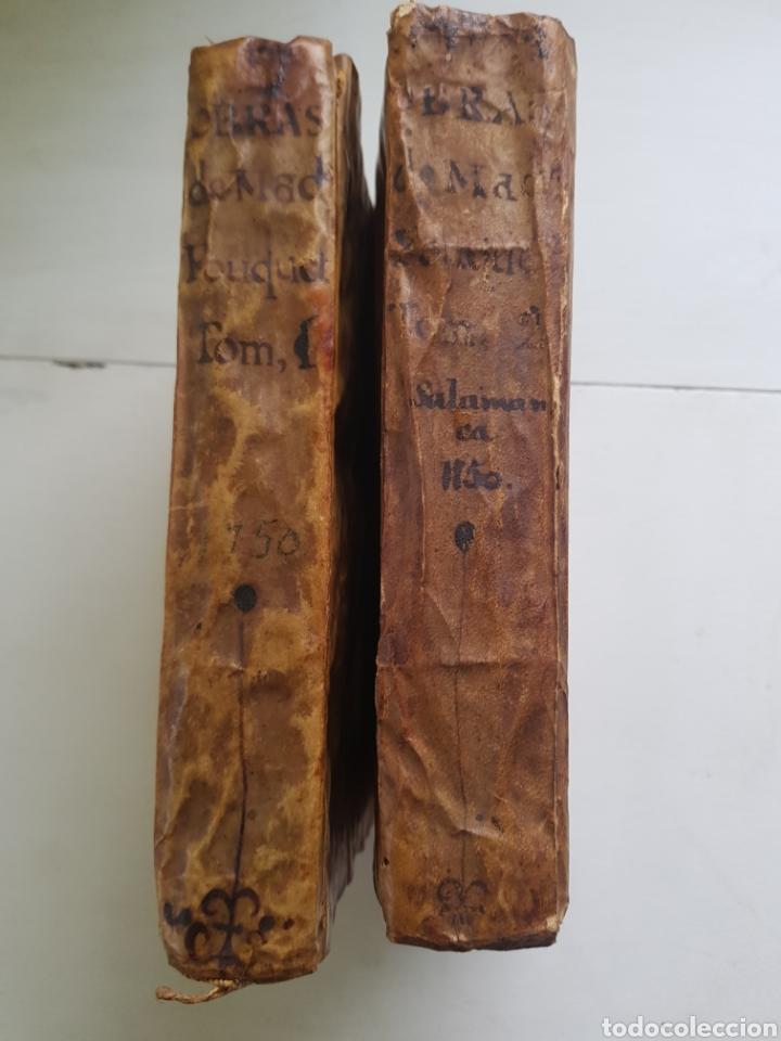 Libros antiguos: OBRAS MEDICO-CHIRURGICAS DE MADAME FOUQUET AÑO 1750 TOMOS I Y II - Foto 3 - 170050980