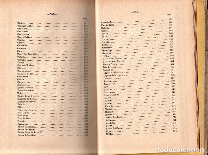 Libros antiguos: HIDROLOGIA MEDICA. DR. D. ANASTASIO GARCIA LOPEZ. 2ª EDICION. TOMO II. 1889. - Foto 10 - 170701860