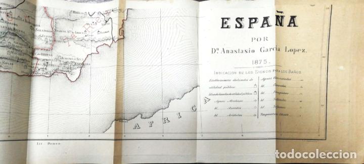 Libros antiguos: HIDROLOGIA MEDICA. DR. D. ANASTASIO GARCIA LOPEZ. 2ª EDICION. TOMO II. 1889. - Foto 15 - 170701860