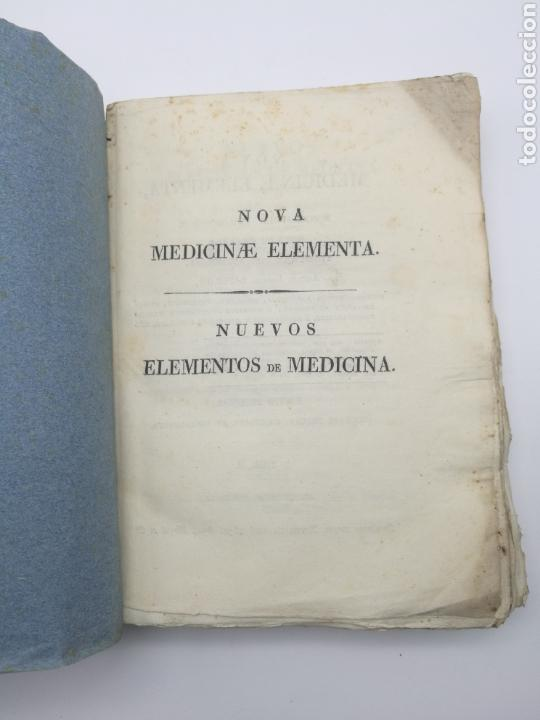 NUEVOS ELEMENTOS DE MEDICINA 1831 TOMO 2 (Libros Antiguos, Raros y Curiosos - Ciencias, Manuales y Oficios - Medicina, Farmacia y Salud)