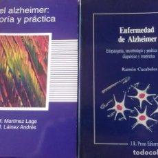 Libros antiguos: 2 LIBROS SOBRE EL ALZHEIMER. Lote 171126015