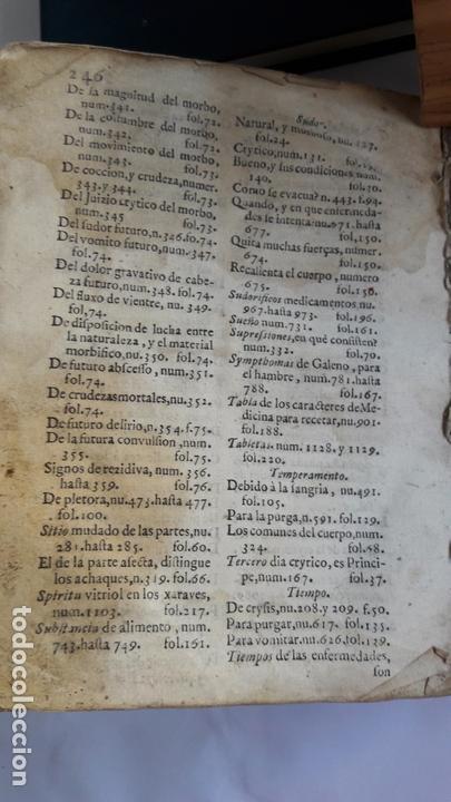 Libros antiguos: Domingo Trapiella Montemayor: LLave de oro medicinal de la salud humana Madrid 1713 - Foto 8 - 172121110