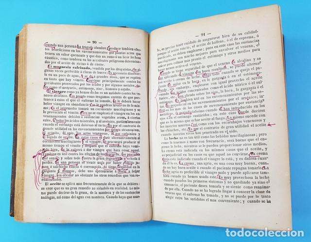 Libros antiguos: MEDICINA HOMEOPATICA DOMESTICA GUIA DE LAS FAMILIAS, DOCTOR HERING, BAILLY-BAILLIERE 1866 579 PAG - Foto 4 - 172252587