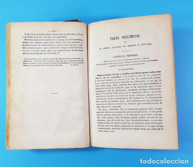 Libros antiguos: MEDICINA HOMEOPATICA DOMESTICA GUIA DE LAS FAMILIAS, DOCTOR HERING, BAILLY-BAILLIERE 1866 579 PAG - Foto 5 - 172252587
