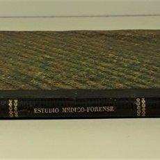 Livres anciens: ESTUDIO MÉDICO-FORENSE DE LOS ATENTADOS CONTRA LA HONESTIDAD. MADRID. 1863.. Lote 172769642