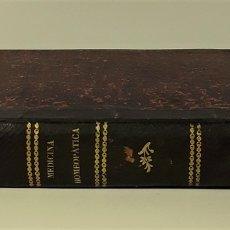 Libros antiguos: MEDICINA HOMEOPATICA DOMESTICA. C. HENRING. IMP. C. BAILLY-BAILLIERE. MADRID. 1865.. Lote 172771935