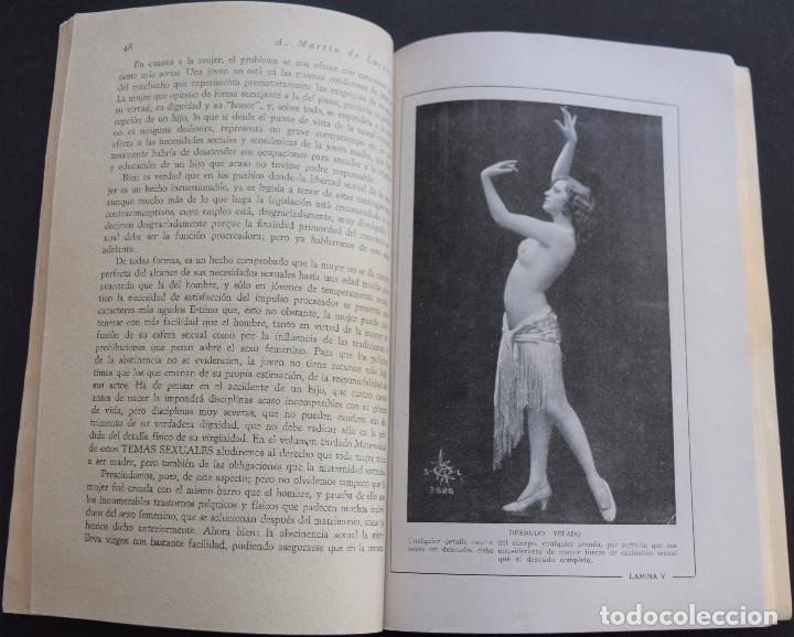 Libros antiguos: LA ABSTINENCIA Y LA MORAL - A. MARTIN DE LUCENAY - TEMAS SEXUALES Nº 13 - 1º EDICIÓN 1933 - Foto 4 - 173054683