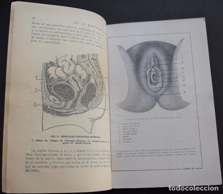 Libros antiguos: LOS ORGANOS GENITALES - A. MARTIN DE LUCENAY - TEMAS SEXUALES Nº 1 - 1º EDICIÓN 1932 - Foto 4 - 173055877