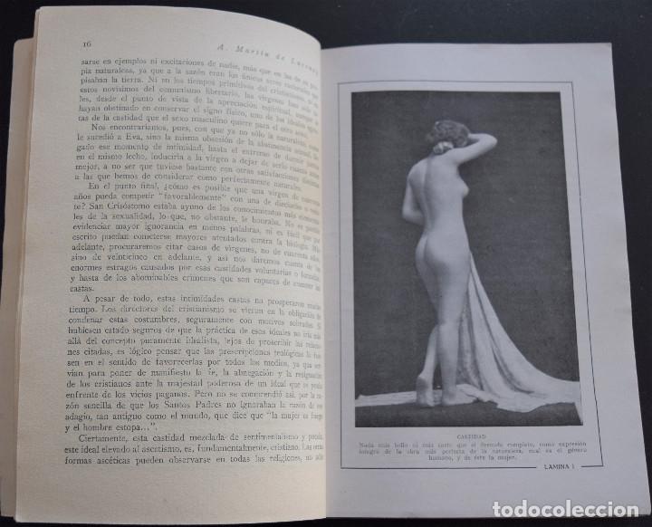 Libros antiguos: LA CASTIDAD - A. MARTIN DE LUCENAY - TEMAS SEXUALES Nº 12 - 1º EDICIÓN 1933 - Foto 4 - 173057874