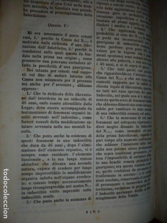 Libros antiguos: LEZIONI DI MEDICINA LEGALE-FRAMMENTI INEDITI FRANCESCO PUCCINOTTI 1847-48 LIVORNO - Foto 9 - 173482960
