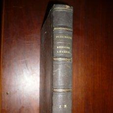 Libros antiguos: LEZIONI DI MEDICINA LEGALE-FRAMMENTI INEDITI FRANCESCO PUCCINOTTI 1847-48 LIVORNO . Lote 173482960