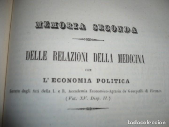 Libros antiguos: LEZIONI DI MEDICINA LEGALE-FRAMMENTI INEDITI FRANCESCO PUCCINOTTI 1847-48 LIVORNO - Foto 14 - 173482960