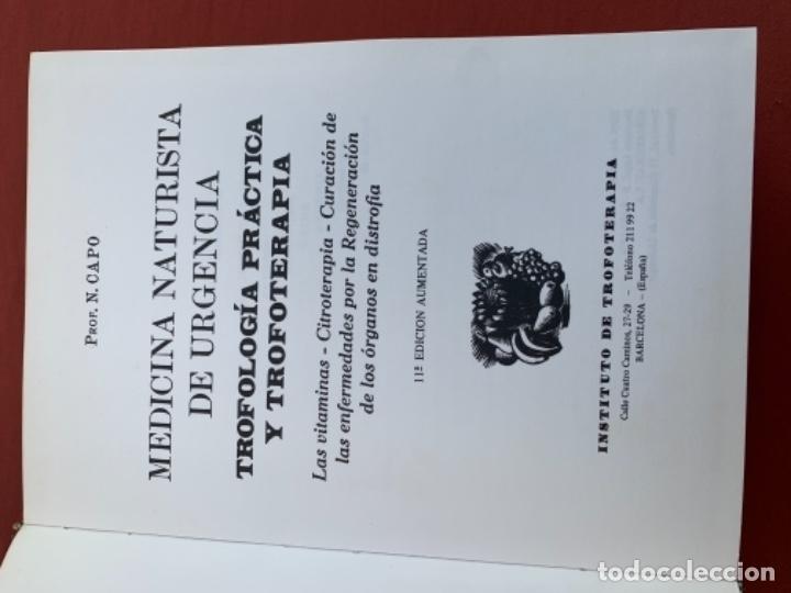 Libros antiguos: Trifología, práctica y trofoterapia - Foto 3 - 174005093